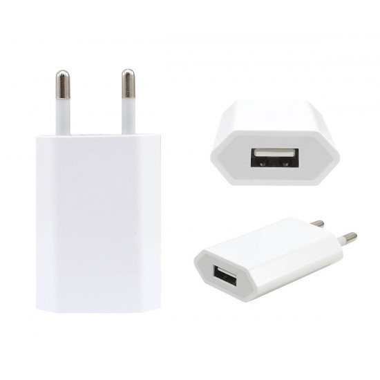 Apple iPhone 2 Pin USB Charger - White