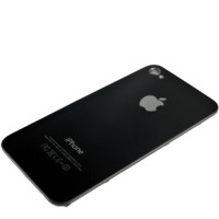 Apple iPhone 4S Rear Housing Battery Door Module - Black