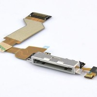 Apple iPhone 4 Charging Port Flex Cable Ribbon Module - White