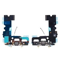 Apple iPhone 7 Charging Port Flex Cable Module Black