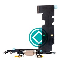 Apple iPhone 8 Plus Charging Port Flex Cable Module - Gold