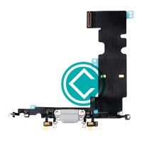 Apple iPhone 8 Plus Charging Port Flex Cable Module - Silver