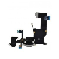 Apple iPhone 5 Charging Port Flex Cable Module - Black