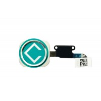 Apple iPhone 6 Home Button Module with Flex Cable - Silver