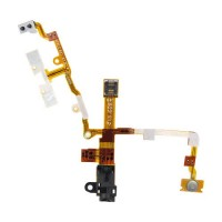 Apple iPhone 3G Earphone Jack With Flex Cable Module - Black