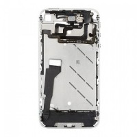 Apple iPhone 4G Middle Cover Silver With Parts
