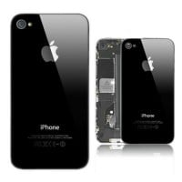 Apple iPhone 4 Rear Housing Battery Door Module - Black