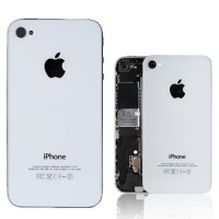 Apple iPhone 4 Rear Housing Battery Door Module - White