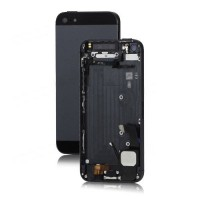 Apple iPhone 5 Rear Housing Panel Battery Door Module - Black