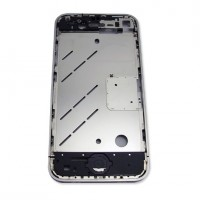 Apple iPhone 4G Middle Cover Silver