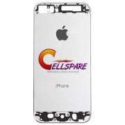 Apple iPhone 5S Rear Main Housing Panel Silver
