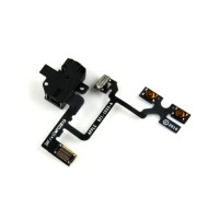 Apple iPhone 4 Headphone Jack With Flex Cable Module - Black