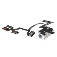 Apple iPhone 4 Earphone Jack With Flex Cable Module - White