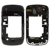 Blackberry Curve 8520 Middle Cover Black