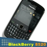Blackberry Curve 8520 Housing Panel Module - Black