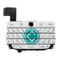 Blackberry Classic Q20 Keypad With Flex Cable Module White