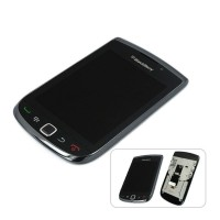 Blackberry 9800 Torch LCD Screen With Digitizer Frame Black - Cellspare