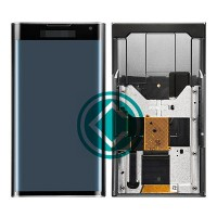 Blackberry Priv LCD Screen With Front Housing Panel Module - Black