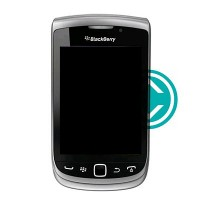 Blackberry Torch 9810 Complete Front LCD Screen Module Black