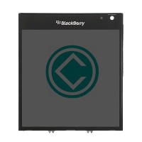 Blackberry Passport LCD Screen With Frame Module - Black