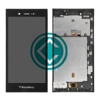Blackberry Z3 LCD Screen With Digitizer Module With Frame Black