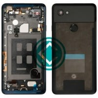 Google Pixel 2 XL Rear Housing Panel Battery Door Module - Black