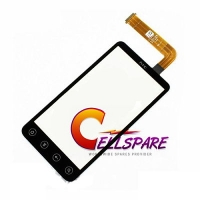HTC EVO 3D Digitizer Touch Screen Module - Black