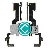 HTC One M9 Plus Side Key Flex Cable With SD Card Reader Module