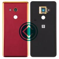 HTC U11 Eyes Rear Housing Battery Door Module - Red