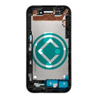 HTC Desire 320 Front Housing Module Black