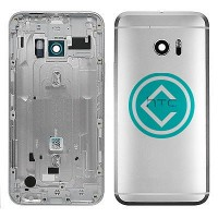 HTC 10 Rear Complete Rear Housing Panel Module - Silver