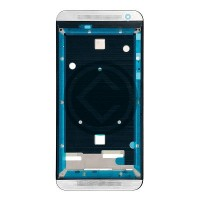 HTC One E9 Front Housing Module Silver