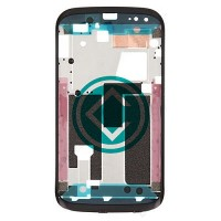 HTC Desire X Front Housing Module - Black