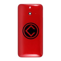 HTC One E8 Rear Housing Module Red