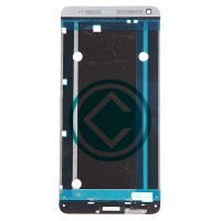 HTC One Max Front Housing Panel Module - Silver