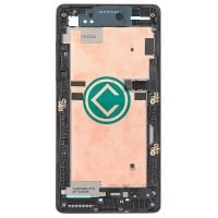 HTC Desire 600 Front Housing Panel Module - Black