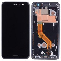 HTC U11 LCD Screen With Front Housing Module - Black
