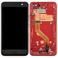 HTC U11 LCD Screen With Front Housing Module - Red