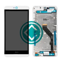 HTC Desire 826 LCD Screen With Digitizer Module With Frame - White
