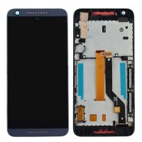 HTC Desire 626 LCD Screen With Digitizer Module With Frame - Blue