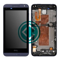 HTC Desire 610 LCD Screen With Front Housing Module - Black