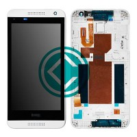 HTC Desire 610 LCD Screen With Front Housing Module - White