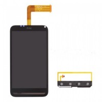 HTC Incredible S LCD Screen With Digitizer Module - Black