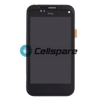 HTC Incredible S LCD Screen And Digitizer With Front Panel Module - Black