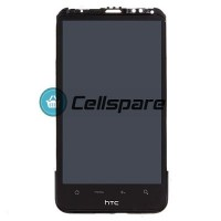 HTC Inspire 4G LCD Screen With Front Housing Module - Black
