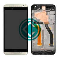 HTC One E9 LCD Screen With Digitizer Module With Frame - Gold