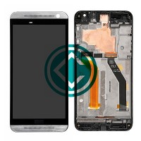 HTC One E9 LCD Screen With Digitizer Module With Frame - Silver
