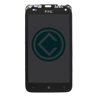 HTC Radar 4G LCD Screen With Front Housing Module - Black