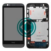 HTC Desire 510 LCD Screen With Front Panel Module - Black