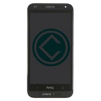 HTC Desire 601 LCD Screen With Digitizer Module With Frame - Black